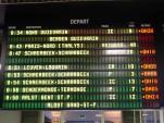 SNCB retards trains