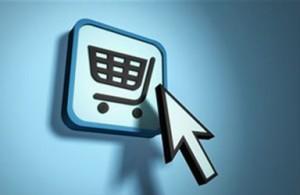 flèche, panier, e-commerce
