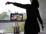Pilotage d'interface gestuelle pour musée - source Museomix