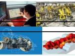 chaîne de production industrie GeonX Virfac simulation modélisation