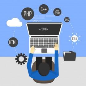 programmation, code, WallCode, programmeur, ordinateur