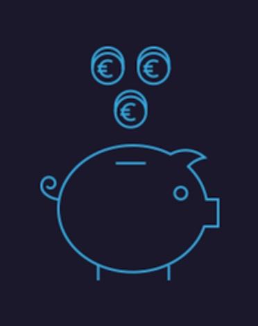 pièces euros cochon