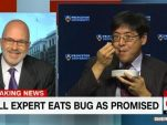 polling-expert-makes-good-on-pre-election-promise-to-eat-a-bug
