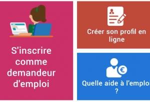 Site Internet Forem - création profil demandeur emploi