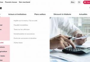 Site Wallonie.be - 2019 - page interne Vivre en Wallonie