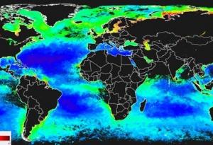 Imagerie planète - cartographie océans via réseaux neuronaux - source ESA
